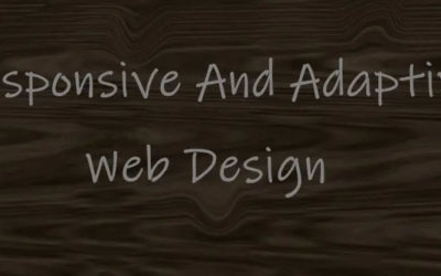 Difference Between Adaptive And Responsive Web Design