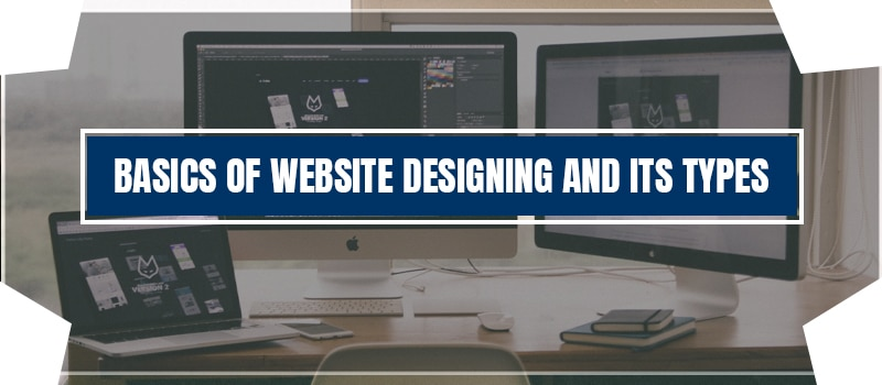 Basics of Website Designing And Its Type