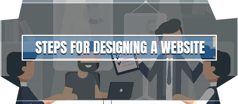 8 steps of Designing a website